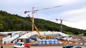 Interventions de Doumen dans le cadre de Lascaux IV : Transport, Levage et manutention