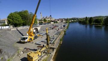 Sud-Ouest : Interventions de Doumen dans le cadre d'un futur restaurant flottant : Manutention, levage